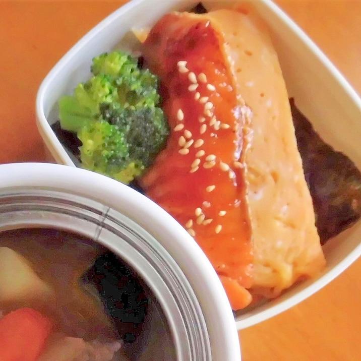 お弁当のおかず★鮭の蒲焼き