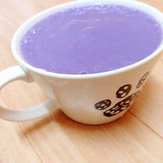 砂糖不要!紫さつま芋とアーモンドミルクのスムージー