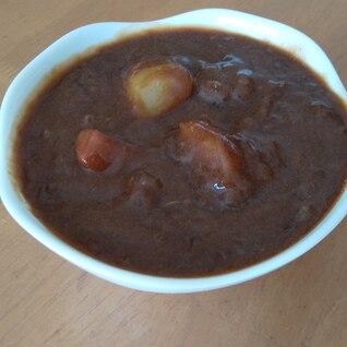 圧力鍋でちょっと贅沢なトマト入りビーフシチュー