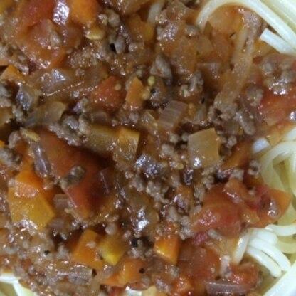 畑でトマトがたくさんできたので、作ってみました(^^)美味しかったです!