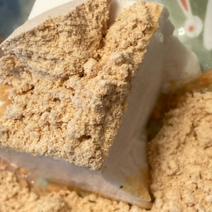 豆腐ときな粉で30秒デザート