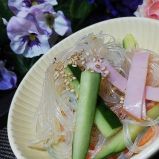 調味料は3つだけ!簡単春雨サラダ