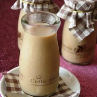コーヒー牛乳プリン。