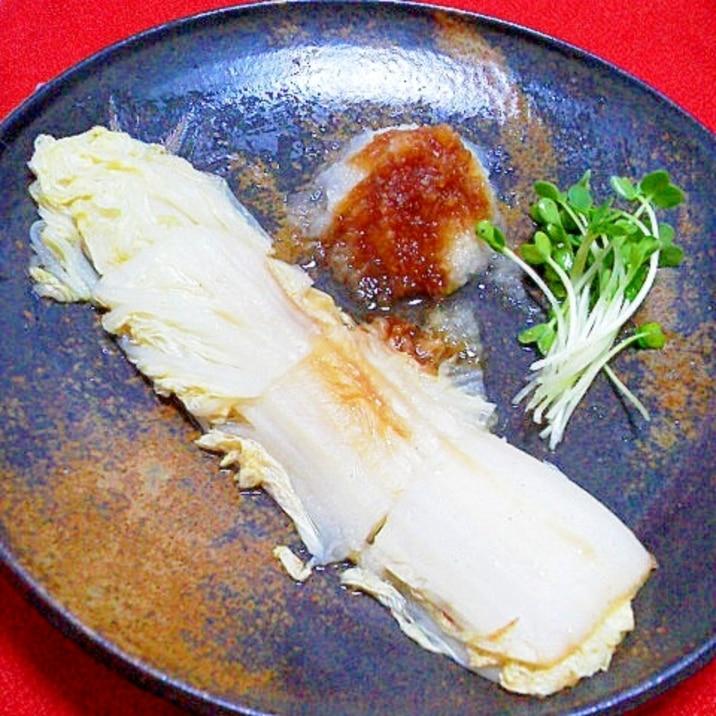 ステーキ レシピ 白菜