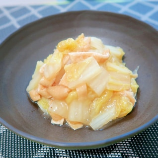 めんつゆ de 白菜のうま煮