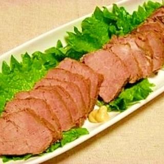 圧力鍋で☆葡萄ジュース煮豚