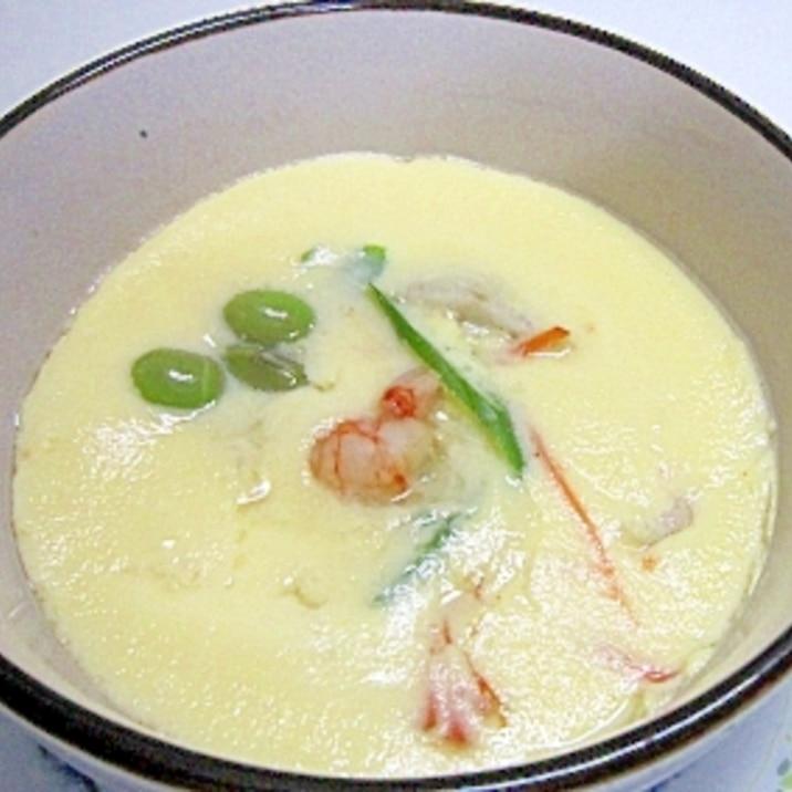 胃に優しく 蒸し器がなくても 里芋の茶碗蒸し