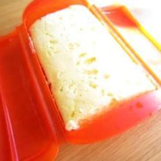 ルクエで簡単チーズ蒸しパン