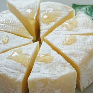 カマンベールチーズを簡単に美味しく(^o^)