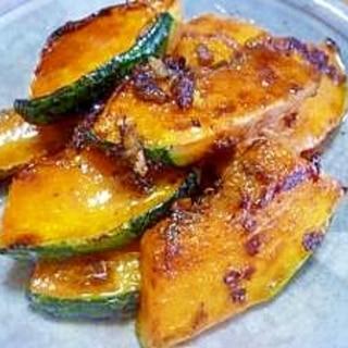 干しかぼちゃの生姜醤油炒め
