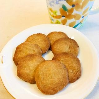 簡単材料3つ!そば粉メープルクッキー【グルテンフリ