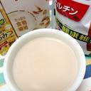 ホッと☆オーツ&大豆プロテインカフェオレ♪