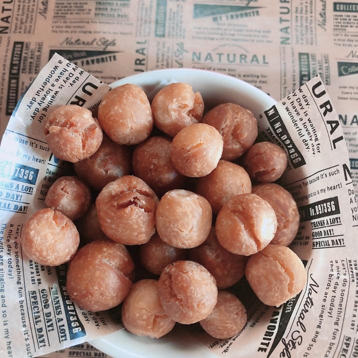 混ぜるだけ!片栗粉でさくさく簡単ドーナツ!