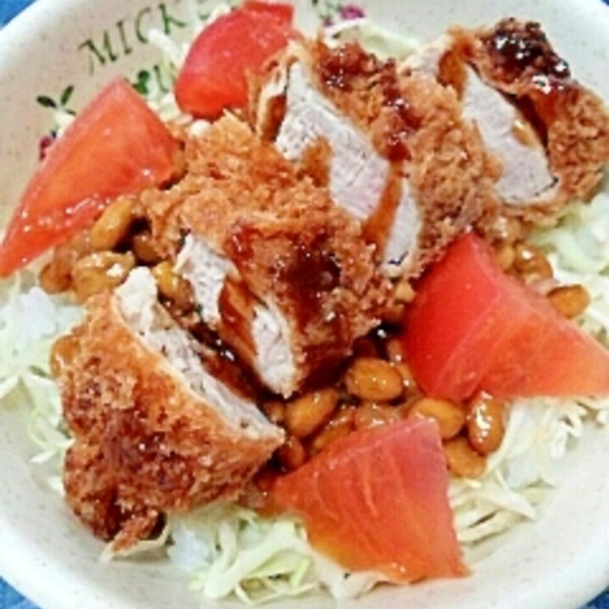 カツ 納豆