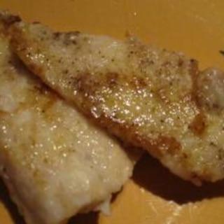 白身魚のムニエル・しょうゆバター風味