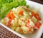 簡単☆ジャガイモとスモークサーモンのサラダ