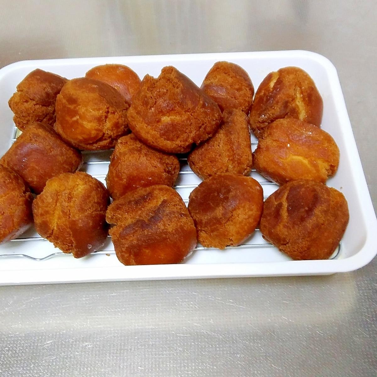 アンダギー レシピ サーター