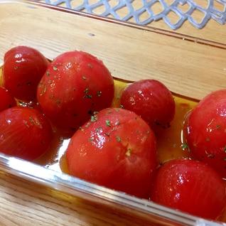 簡単5分の作りおき☆夏にぴったりプチトマトのマリネ