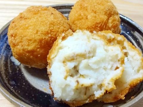 とろ~りクリーミーなホタテと長芋のコロッケ