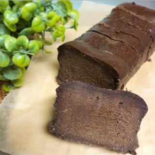 生チョコのような濃厚チョコレートケーキ