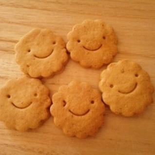 さくっ♪ほろっ♪米粉と全粒紛のクッキー