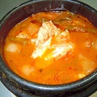 スン豆腐チゲ 本場韓国の食堂風に卵プラスのレシピ