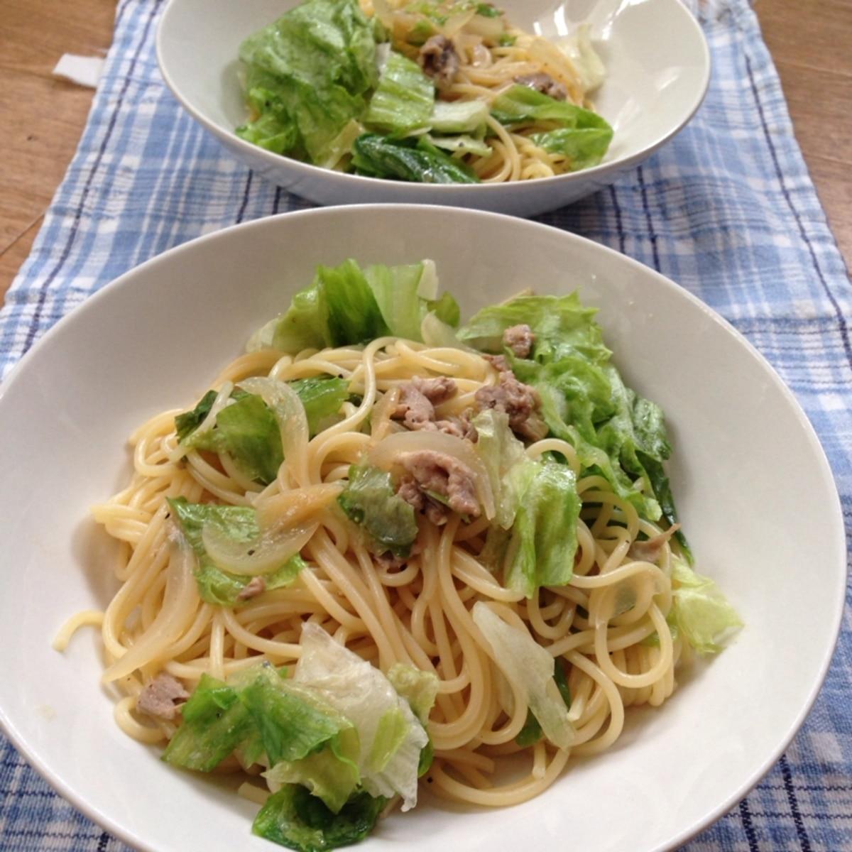 豚肉 レタス たっぷりレタス&豚肉★スープ~♪ レシピ・作り方