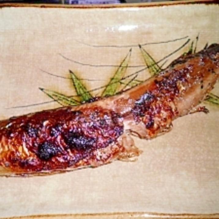 秋刀魚の塩麹漬け焼