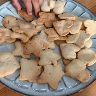 焼くまで3分!卵なし・バターなし・砂糖なしクッキー