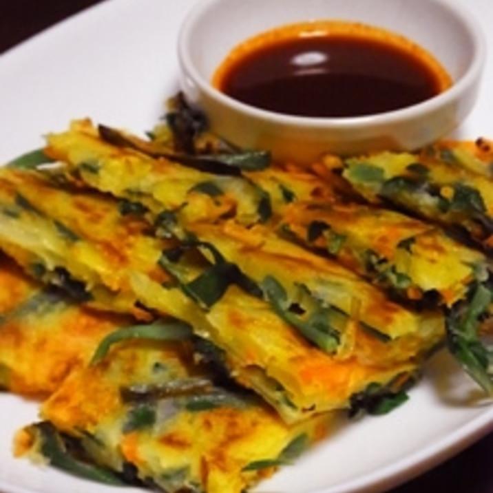 【簡単】野菜のチヂミとチヂミタレ