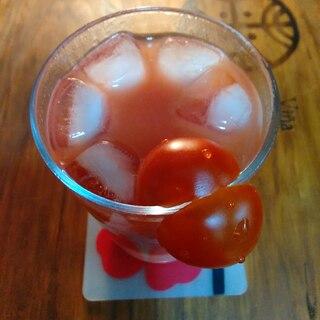 美肌効果の酒粕トマトジュース