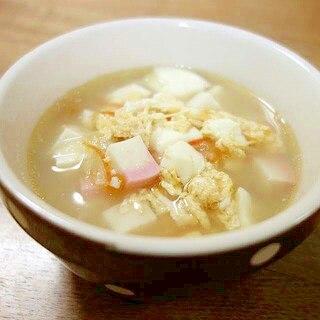 なますで酸辣湯風スープ