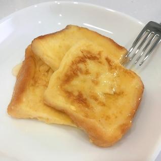 一晩浸して朝に焼くだけふわとろフレンチトースト