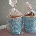 ホットケーキミックスで簡単バナナのカップケーキ