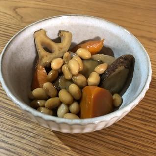 大豆たっぷり筑前煮♫