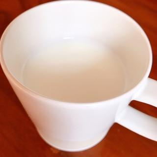 寝る前のあったかドリンク♡甘酒ホットミルク