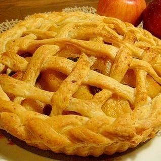 ふすま入りのアップルパイ