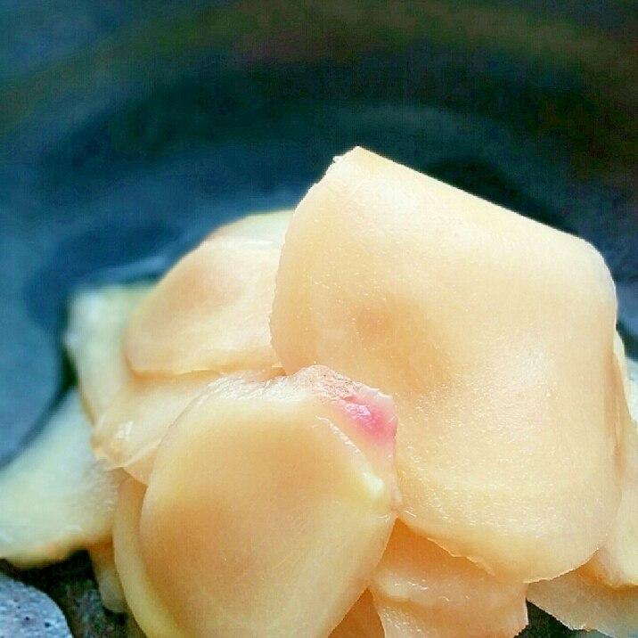 新 生姜 甘酢 漬け 茹で ない