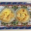 新玉ねぎの味噌チーズ焼き