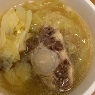 栄養満点テールスープ