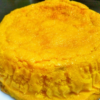 かぼちゃと卵だけ♡かぼちゃケーキ♡炊飯器ok♡