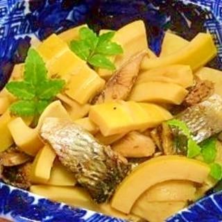緑茶でふっくら☆筍とニシンの煮物