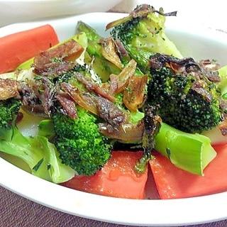 バーニャカウダ風野菜のオーブン焼き