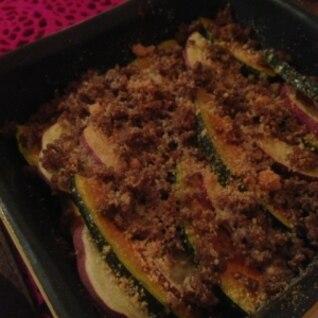 ほっくりカボチャとサツマイモのオーブン焼き