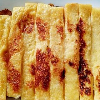 パンの耳のフレンチトースト