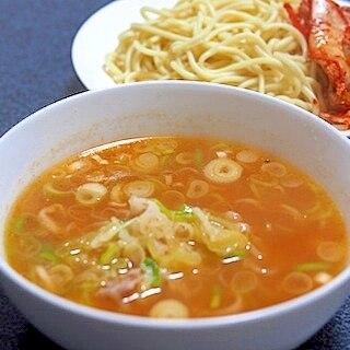 簡単、うまい! 鶏ガラ味噌スープ つけ麺
