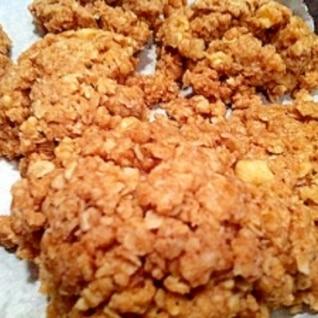 オートミールとくるみのクッキー