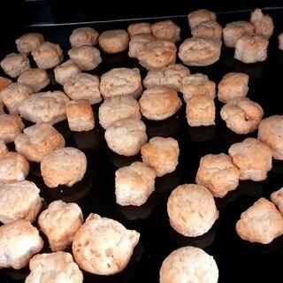 砂糖不使用☆米粉&全粒粉入りサクサククッキー