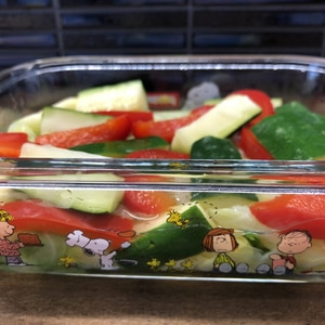 食感美味しい野菜の酢漬け