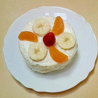 離乳食期のケーキ